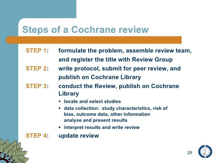cochrane review grey literature Grey literature searching for health sciences systematic reviews: a prospective study of time spent and resources utilized.