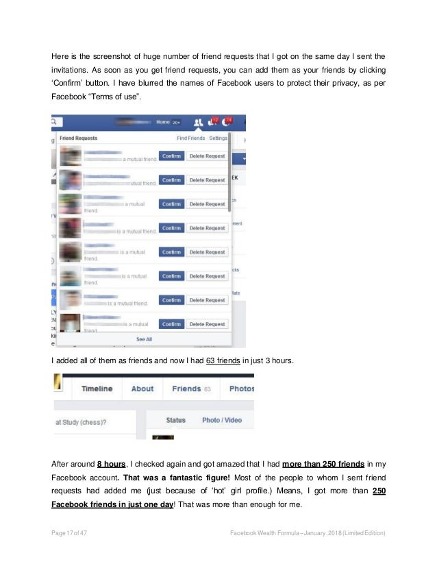 How to make money on Facebook - Easy $500 per day formula