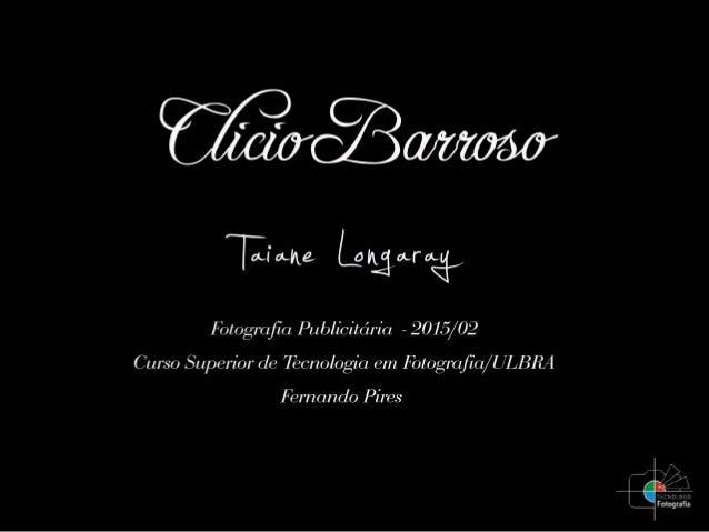Paulistano, Clicio Barroso Filho cursou a Camera Photoagenthur / Nikon School of Photography, nos anos 70. Após passar pel...