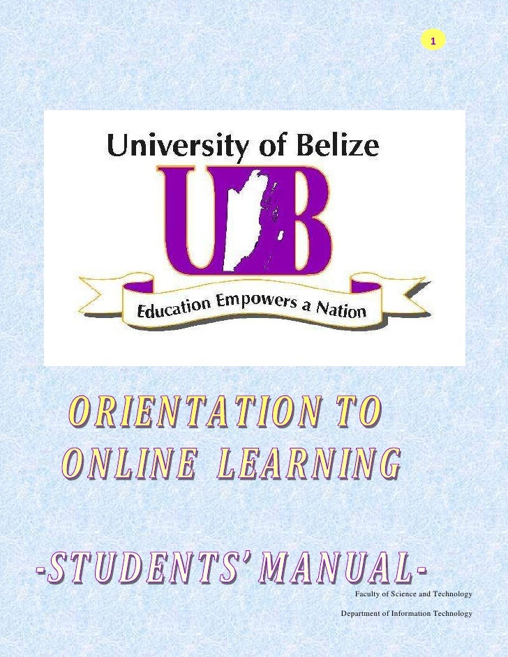 © The University of the Belize, 2008<br />This publication may only be produced, stored or transmitted, in any form by any...