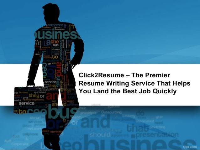 Click2Resume – The PremierResume Writing Service That HelpsYou Land the Best Job Quickly