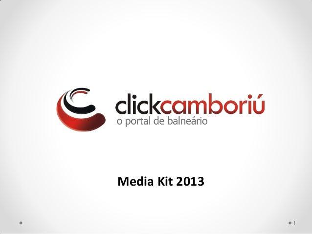 Media Kit 20131