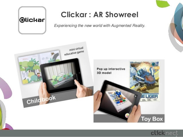 Clickar : AR ShowreelExperiencing the new world with Augmented Reality.