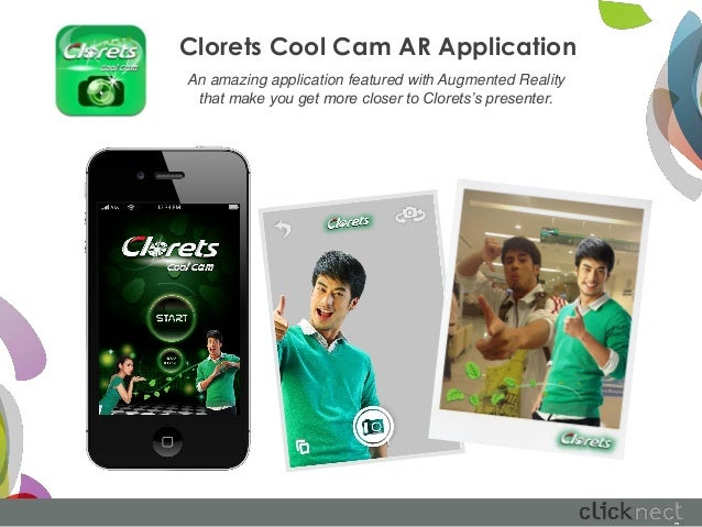 Clorets Cool Cam AR ApplicationAn amazing application featured with Augmented Reality that make you get more closer to Clo...