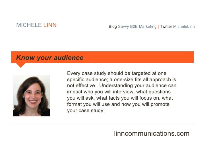 tips on writing a case study Content - case studies are often dry, generic, or pretty much just a high school pep rally (minus the cool letterman jackets) cheering on the company but they don't have to be.
