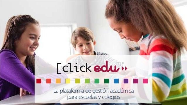 La plataforma de gestión académica para escuelas y colegios