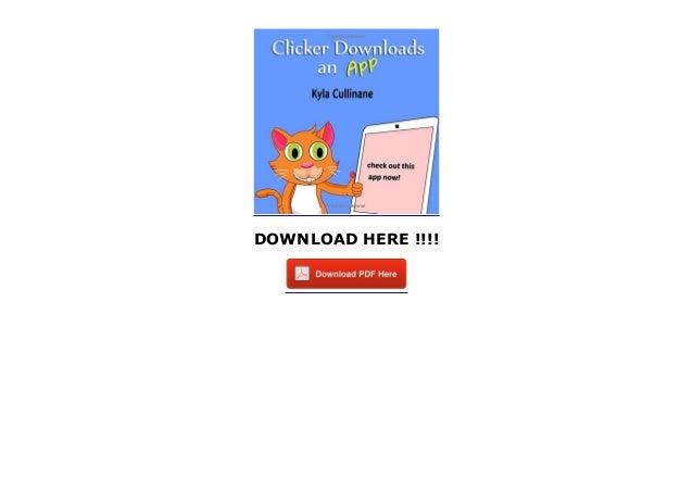 Clicker Downloads An App (Clicker the Cat)