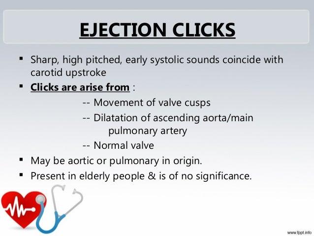 Clicks Pericardial Rub