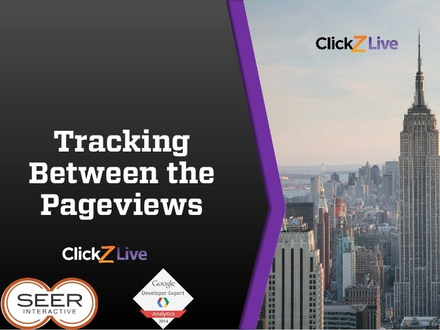 Tracking Between the Pageviews