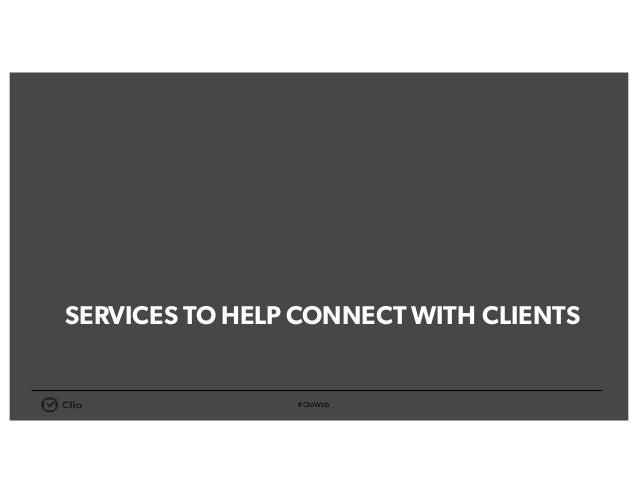 Client Communication MailChimp • Design & deliveremail campaigns • Easy-to-understandreports Lexicata • Cloud-basedCRM • K...