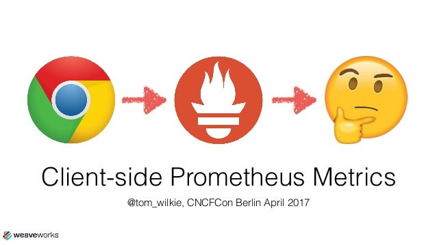 Client Side Monitoring With Prometheus