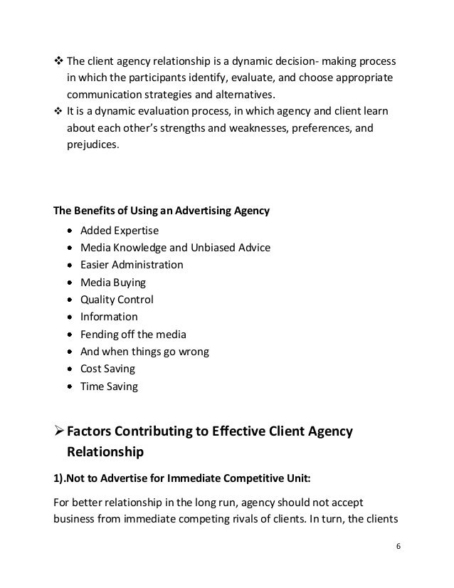factors influencing the planning of advertising campaign