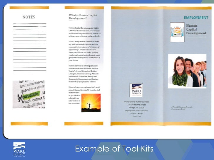 Example of Tool Kits