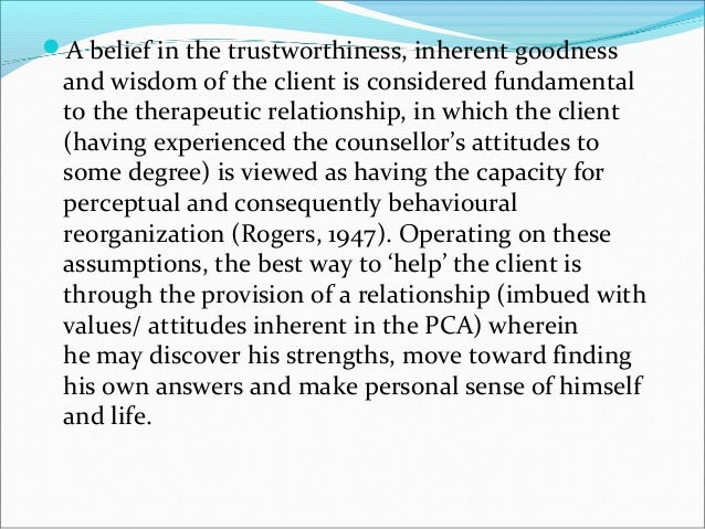 advantages of client centered therapy