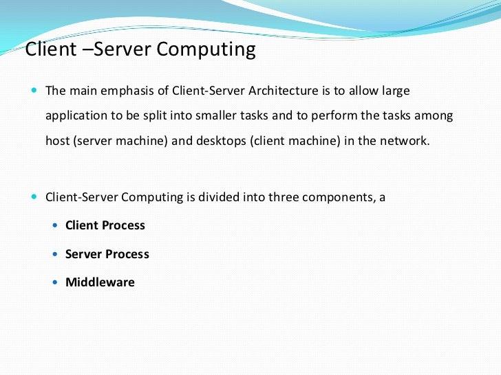 Client–server model