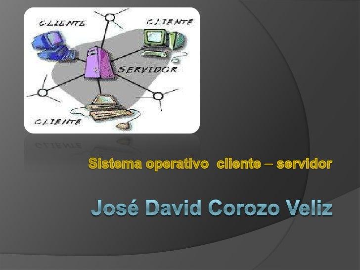 Cliente-servidorLa arquitectura cliente-servidor es un modelo de aplicación distribuidaen el que las tareas se reparten en...