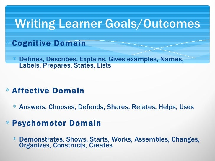 learning outcomes writing dissertation