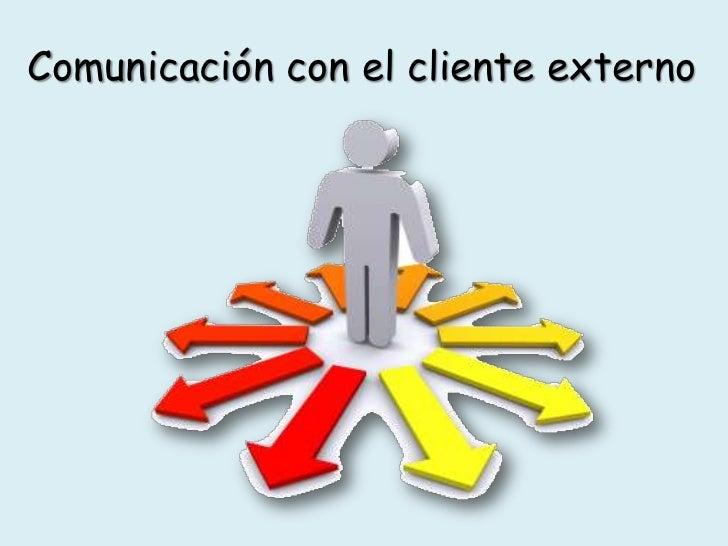 cliente interno y externo