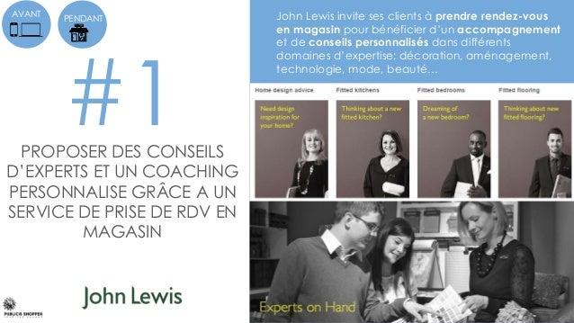 #1 AVANT John Lewis invite ses clients à prendre rendez-vous en magasin pour bénéficier d'un accompagnement et de conseils...