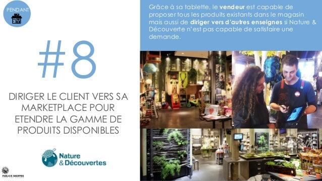 PENDANT #9 La boutique offre une expérience d'essayage personnalisée grâce à un cabine connectée : détection automatique d...