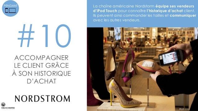 #11GARDER CONTACT AVEC LE VENDEUR APRES L'ACHAT Les vendeurs Leroy Merlin prolongent la relation au- delà du magasin via u...