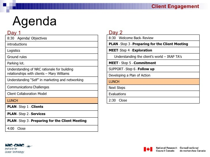 Client Meeting Agenda Template - Apigram.Com