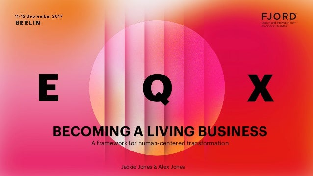 BECOMING A LIVING BUSINESS A framework for human-centered transformation BECOMING A LIVING BUSINESS A framework for human-...