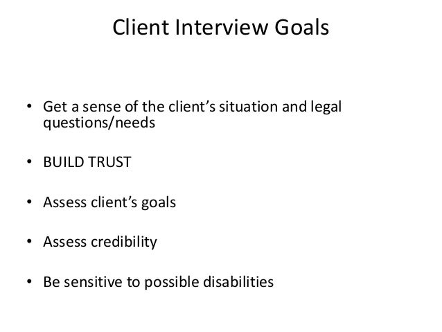 Amazing ... To Possible Disabilities; 12. Seven Stages Of Interviewing ...