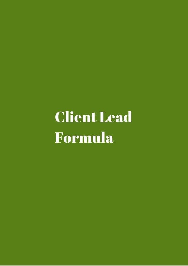 client lead formula coupon code. Black Bedroom Furniture Sets. Home Design Ideas
