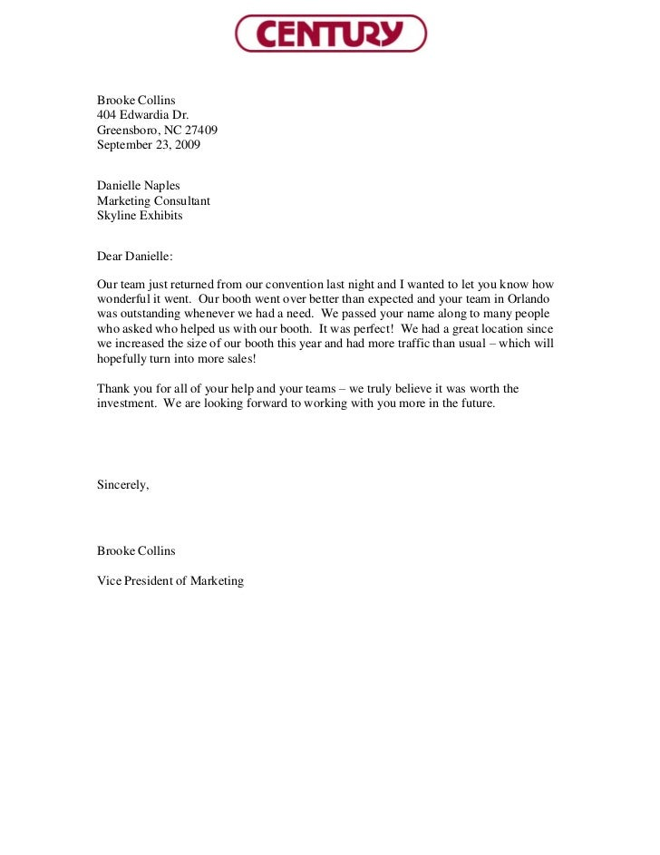 how to write a customer testimonial letter