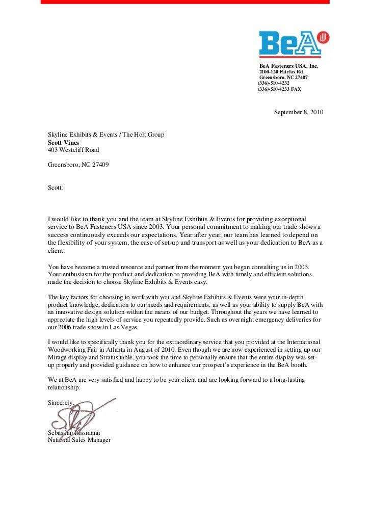 Reestablishing Relationship With Former Customer Letter