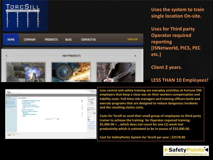 Uses the system to train                                    single location On-site.                                    Us...