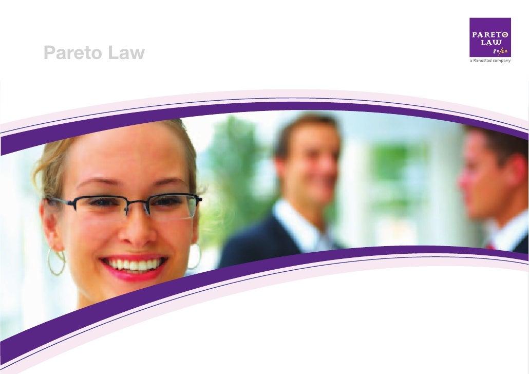© 2008 Pareto Law