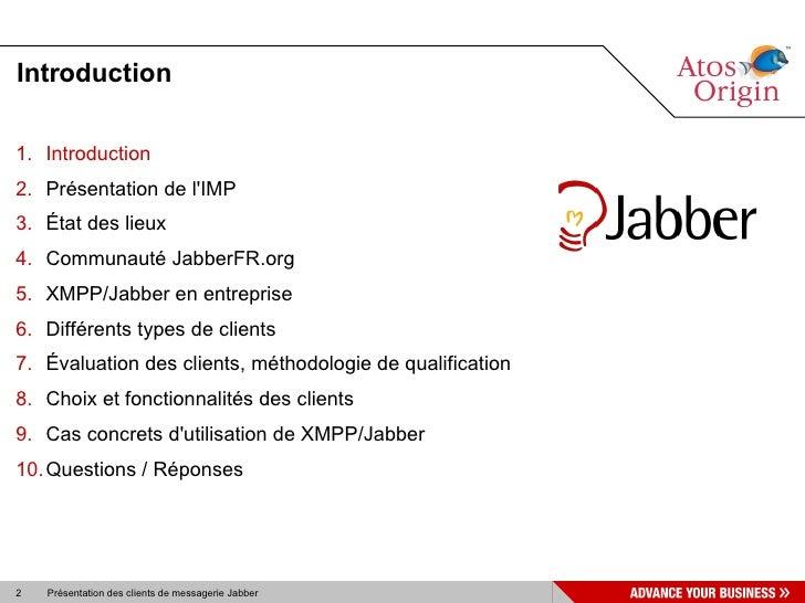Clients XMPP SL07 Slide 2