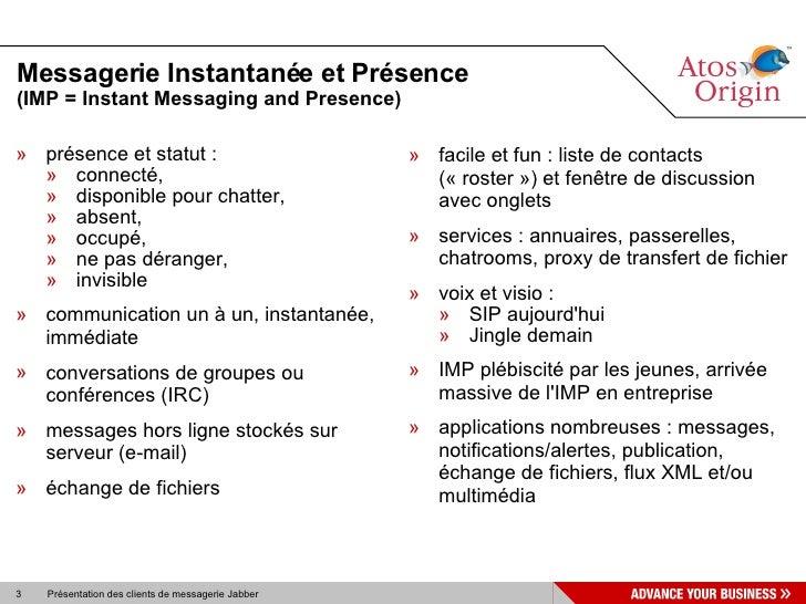 Clients XMPP SL07 Slide 3