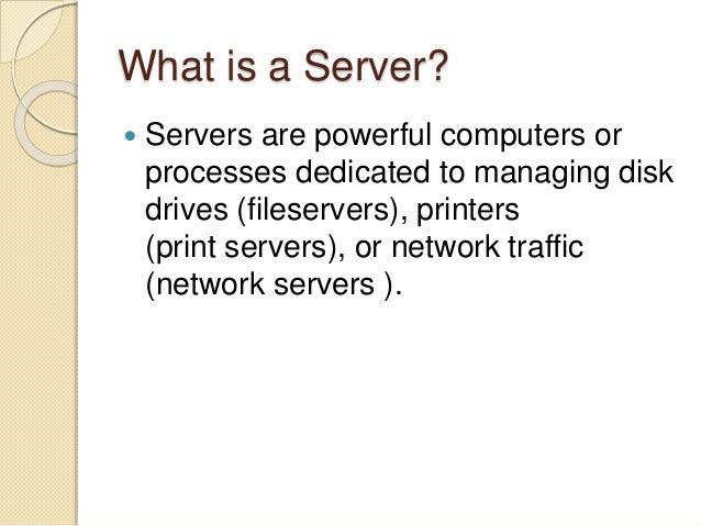 Client server architecture Slide 3