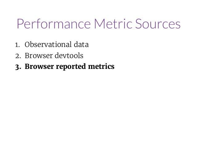 Making Metrics Meaningful