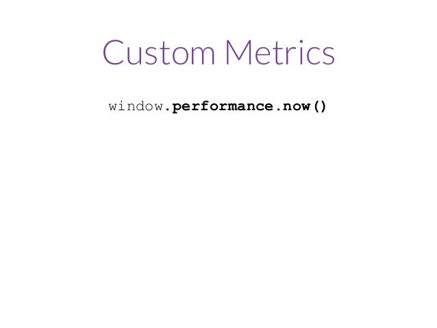 Can we automate, collect, and monitor these metrics?