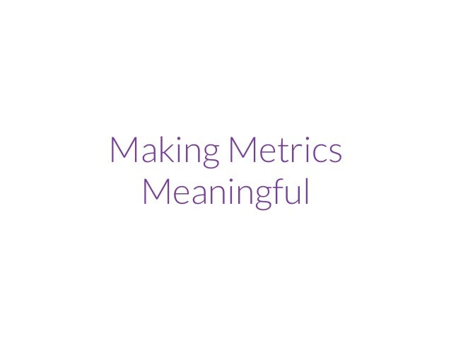 RUM Performance Metrics Users Collect Metrics