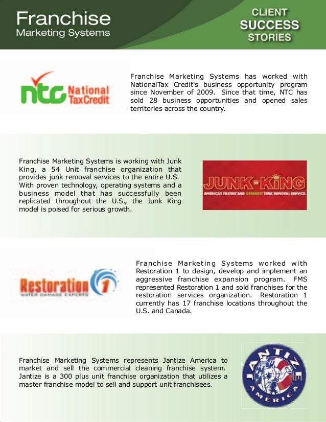 Client success stories_franchise marketing systems