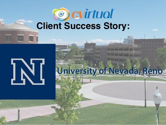 Client Success Story: University of Nevada, Reno