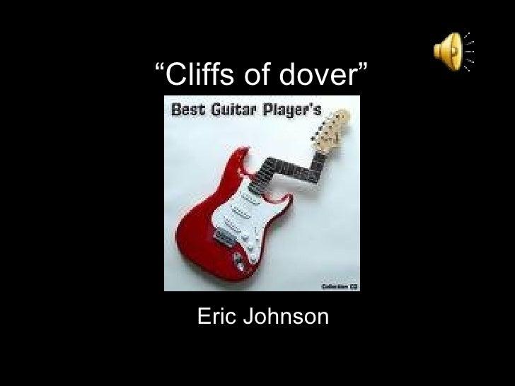 """ Cliffs of dover"" Eric   Johnson"