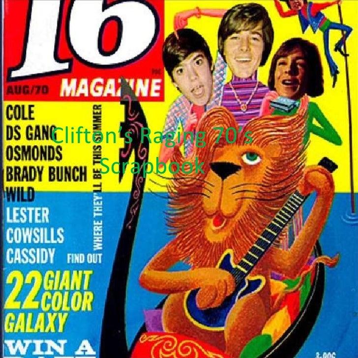 Clifton's Raging 70's Scrapbook