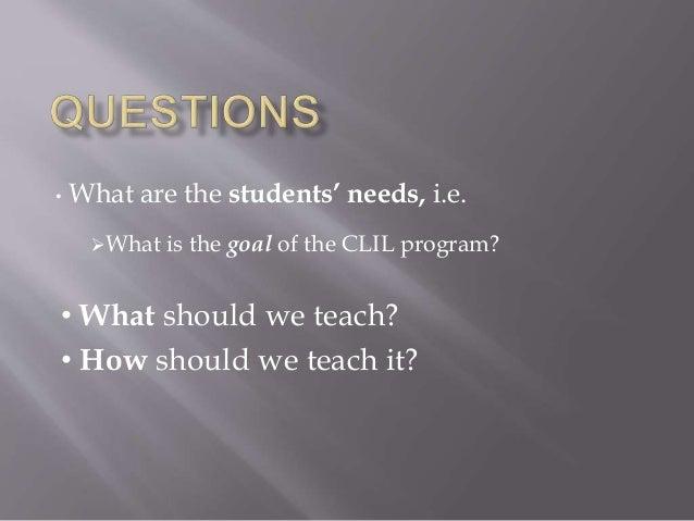 Clil and CEFR Slide 2