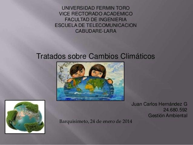 UNIVERSIDAD FERMIN TORO VICE RECTORADO ACADEMICO FACULTAD DE INGENIERIA ESCUELA DE TELECOMUNICACION CABUDARE-LARA  Tratado...