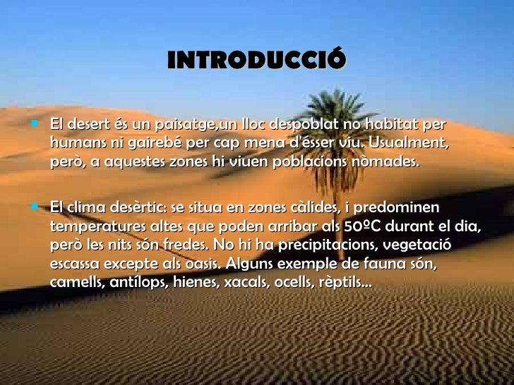 Clima Desertic