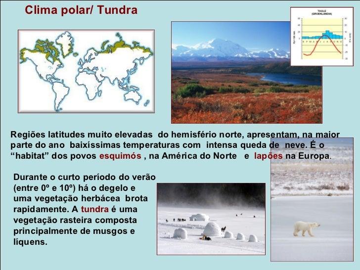 Climas e vegetações no BrasilFatores como a posição geográfica (quase totalidadeem áreas tropicais), e presença de extenso...