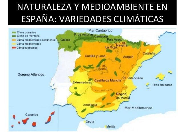 Climas De Espana Factores Que Determinan El Clima