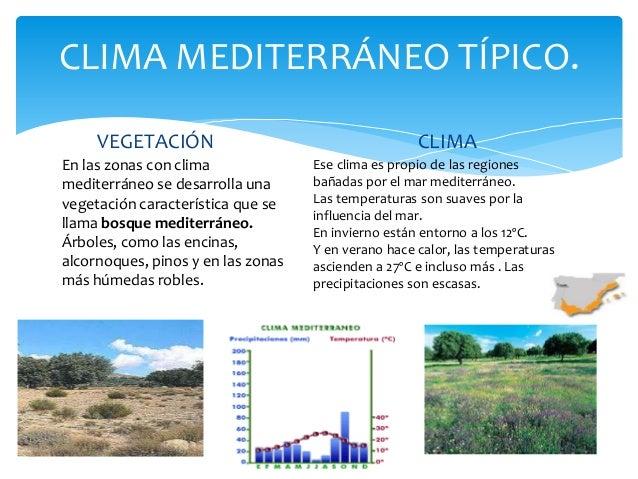 Climas de espa a for Clima mediterraneo de interior