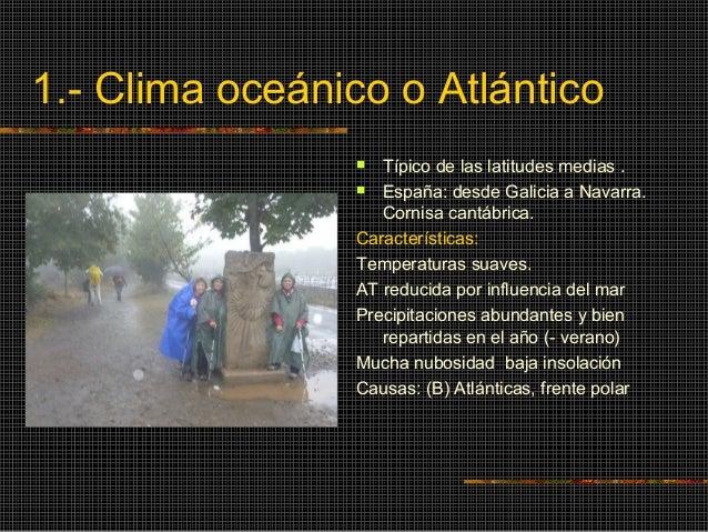 CLIMAS DE ESPAÑA Slide 3